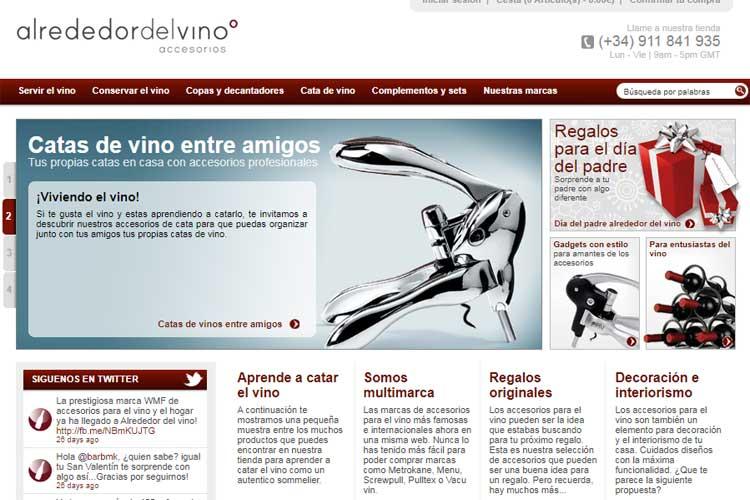 Tienda Alrededor del Vino